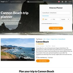 Plan your Cannon Beach vacation itinerary