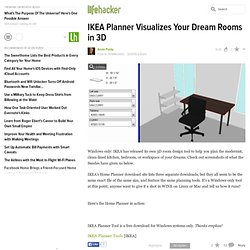 Downloads: IKEA Planner Visualizes Your Dream Rooms in 3D