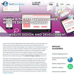 Best Event Planner Website Design Company in Pakistan