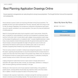 Best Planning Application Drawings Online