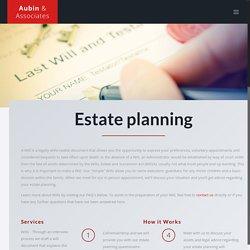 Estate Planning - Aubin and Associates