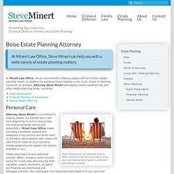 Boise Estate Planning Attorney
