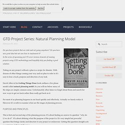 GTD Project Series: Natural planning model