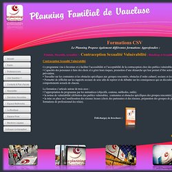 Planning Familial de Vaucluse