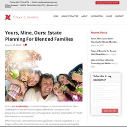 Estate Planning For Blended Families