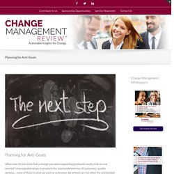 Change Management Review