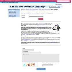 Planning : Primary Framework for Literacy : Mixed Age Summaries : Year 1 and Year 2