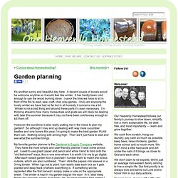 Garden planning « Our Heavenly Homestead