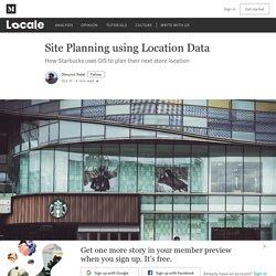 Site Planning using Location Data - Locale - Medium