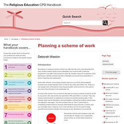 The Religious Education CPD Handbook