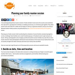 Planning your family reunion session - Galina Walls Photography