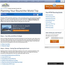Planning Your Round the World Trip – Round the World Travel Guide & Tickets – BootsnAll Travel