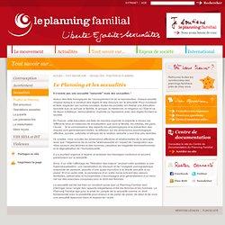 Planning Familial - Sexualités