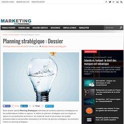 Planning stratégique : Dossier
