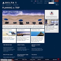 Flights and Reservations at delta.com