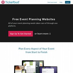 Free Event Planning Website