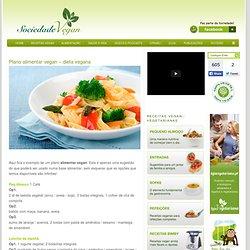 Plano alimentar vegan – dieta vegana