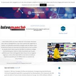 Intermarché utilise des planogrammes dans sa stratégie de merchandising