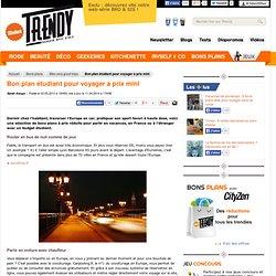 Bons plans : Bon plan étudiant : voyager pas cher - L'Etudiant Trendy