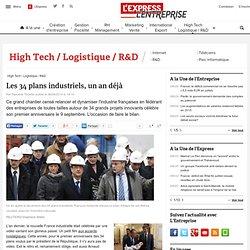 Les 34 plans industriels, un an déjà