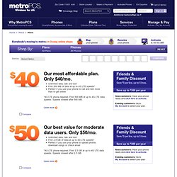 Unlimited Cell Phone Plans - MetroPCS