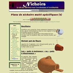 Plans de nichoirs multi-spécifiques (4)