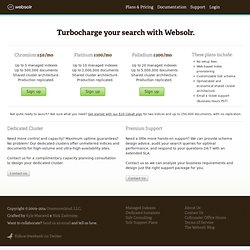Powerful, hassle-free full-text search for your app | websolr