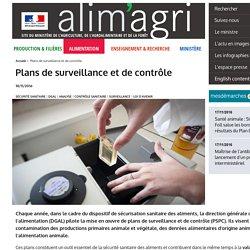 MAAF 18/11/16 Bilan : Plans de surveillance et de contrôle