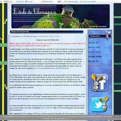 Plans de travail CE1 2011-2012