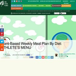 Plant-Based Weekly Meal Plan By Diet: ATHLETE'S MENU