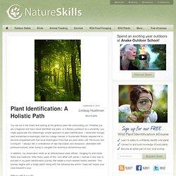 Free Wild Plant Identification eCourse