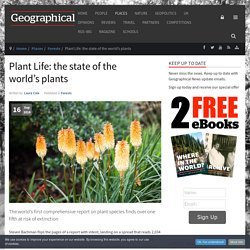 Plant Life: the state of the world's plants