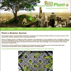 Plant-e Modular