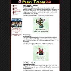 Plant Tycoon : Magic Plants