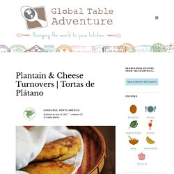Plantain & Cheese Turnovers