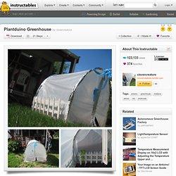 Plantduino Greenhouse