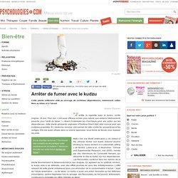 Plante kudzu - Kudzu et arrêt du tabac