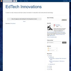 Have you planted a Pearltree today? « EdTech Innovations