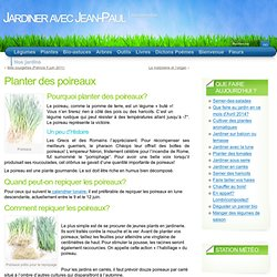 Planter des poireaux « Légumes
