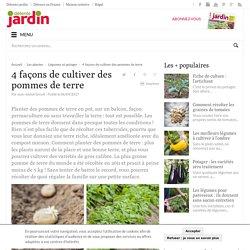 Planter des pommes de terre, culture pomme de terre I Détente Jardin