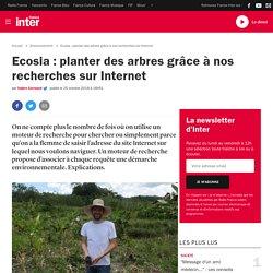 Ecosia : planter des arbres grâce à nos recherches sur Internet