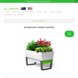Urban Garden Planters - Modern Plant Pots to Create Stylish Garden Designs — Glowpear Australia
