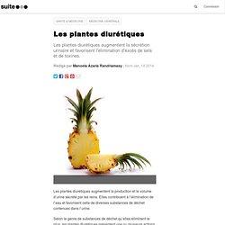 Les plantes diurétiques