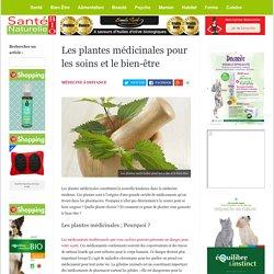Les plantes médicinales pour les soins et le bien-être