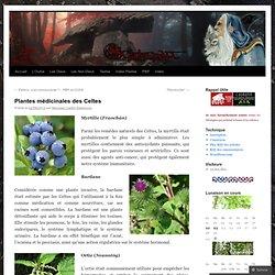 Plantes médicinales des Celtes