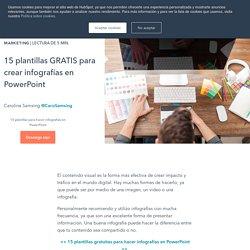 15 plantillas GRATIS para crear infografías en PowerPoint