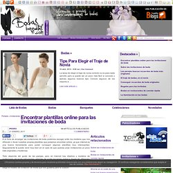 Bodas-Banquetes.com: La Revista sobre Bodas, Celebraciones, listas de bodas, Luna de Miel, Viajes para Novios