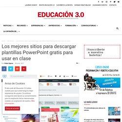 15 páginas web con plantillas PowerPoint gratuitas para crear presentaciones