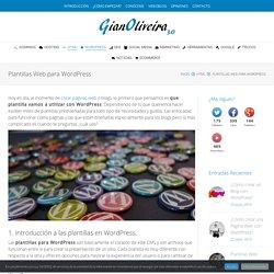 Plantillas Web para WordPress