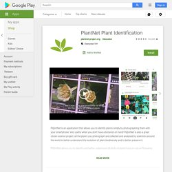 PlantNet Identification Plante